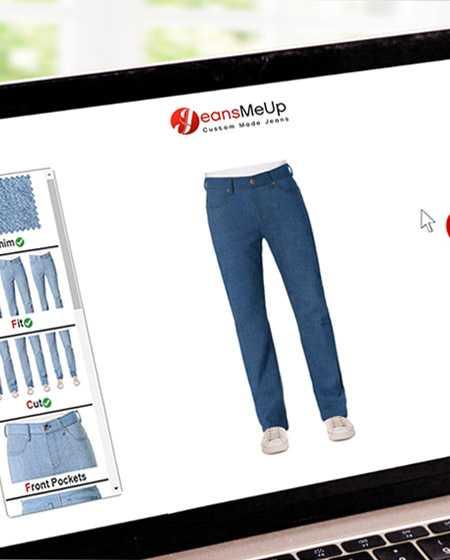 Concevez votre jean par vous-même, choisissez votre jean